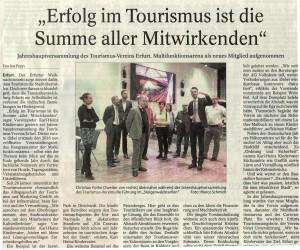 Erfolg im Tourismus